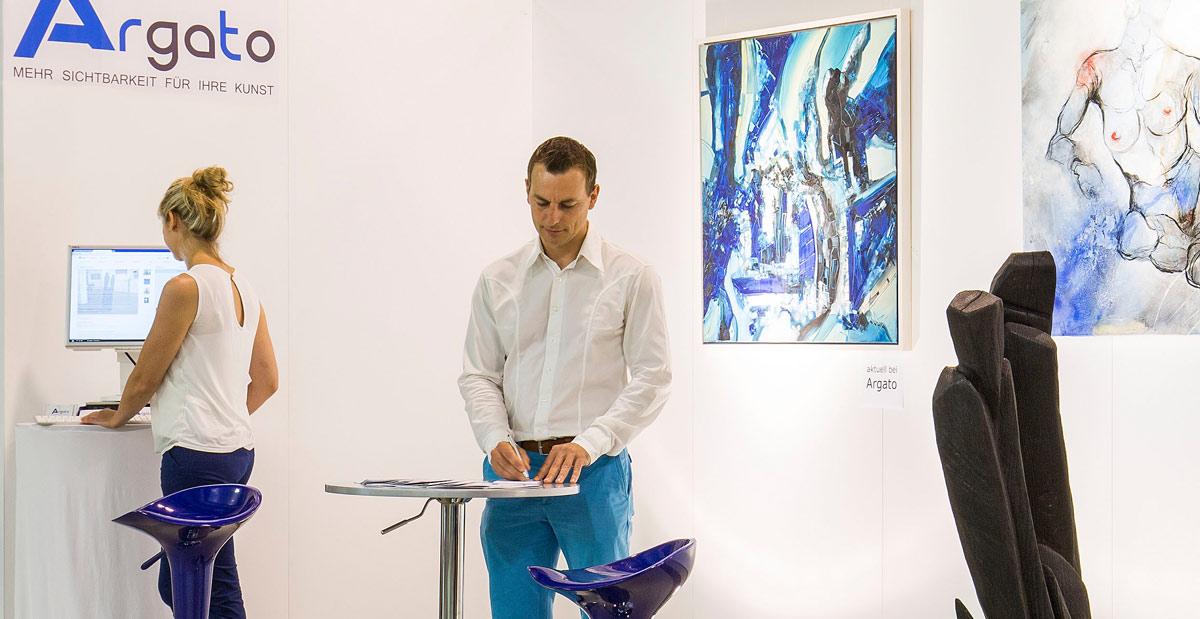 moderne Kunst verkaufen