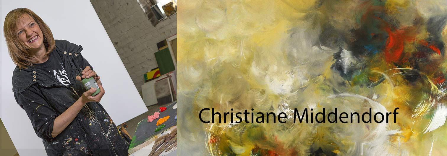 Abstrakte Malerei von Christiane Middendorf