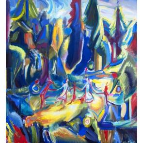 Moderne Kunstwerke argato kunst direkt vom künstler kaufen