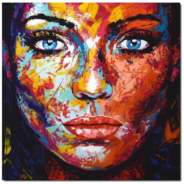 Fehler | Porträtmalerei, Künstler malerei, Leinwandmalerei