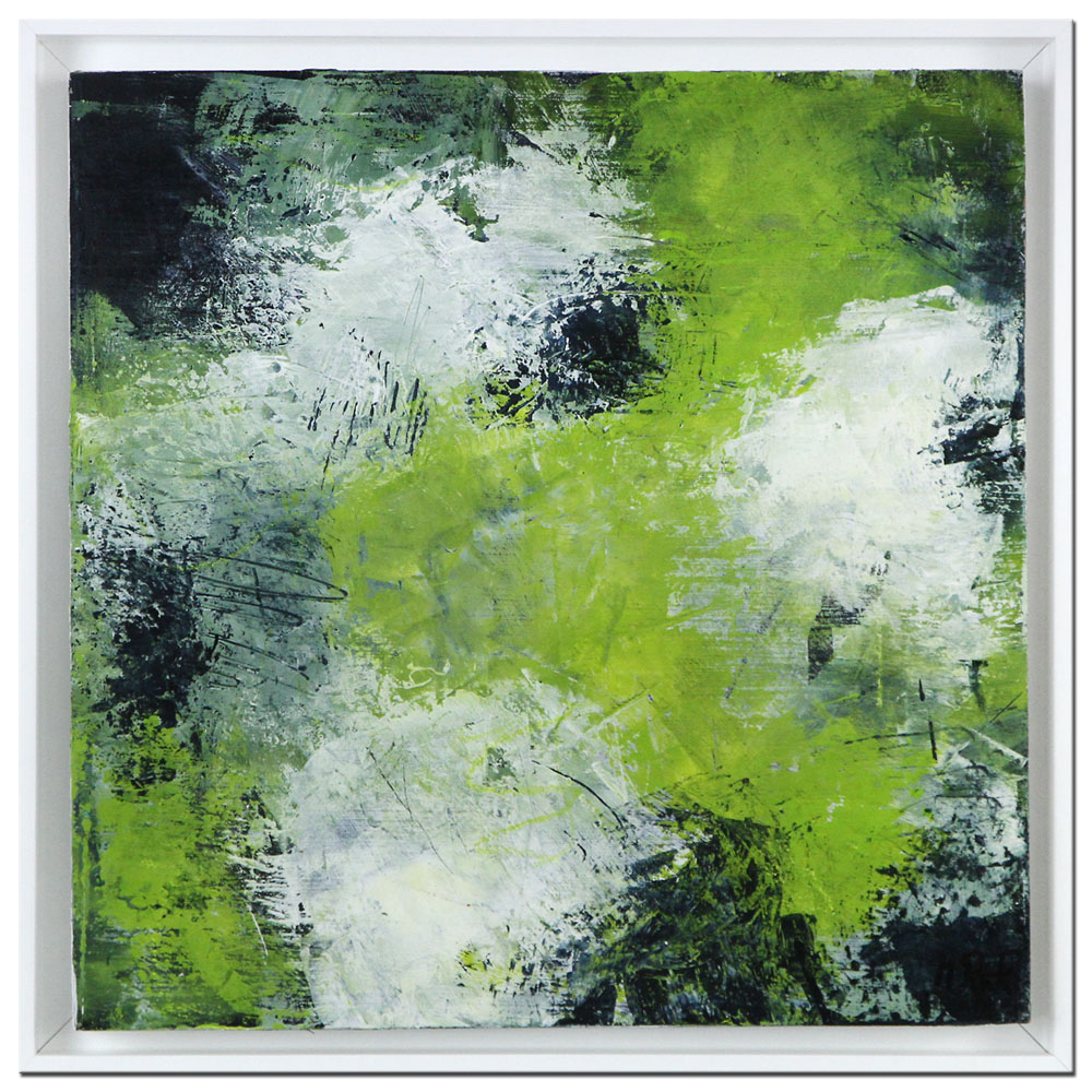 "Moderne Kunst: ""Abstract green"""
