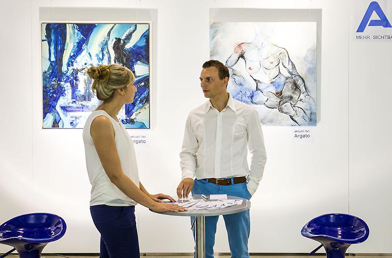 Kunstmesse mit Argato