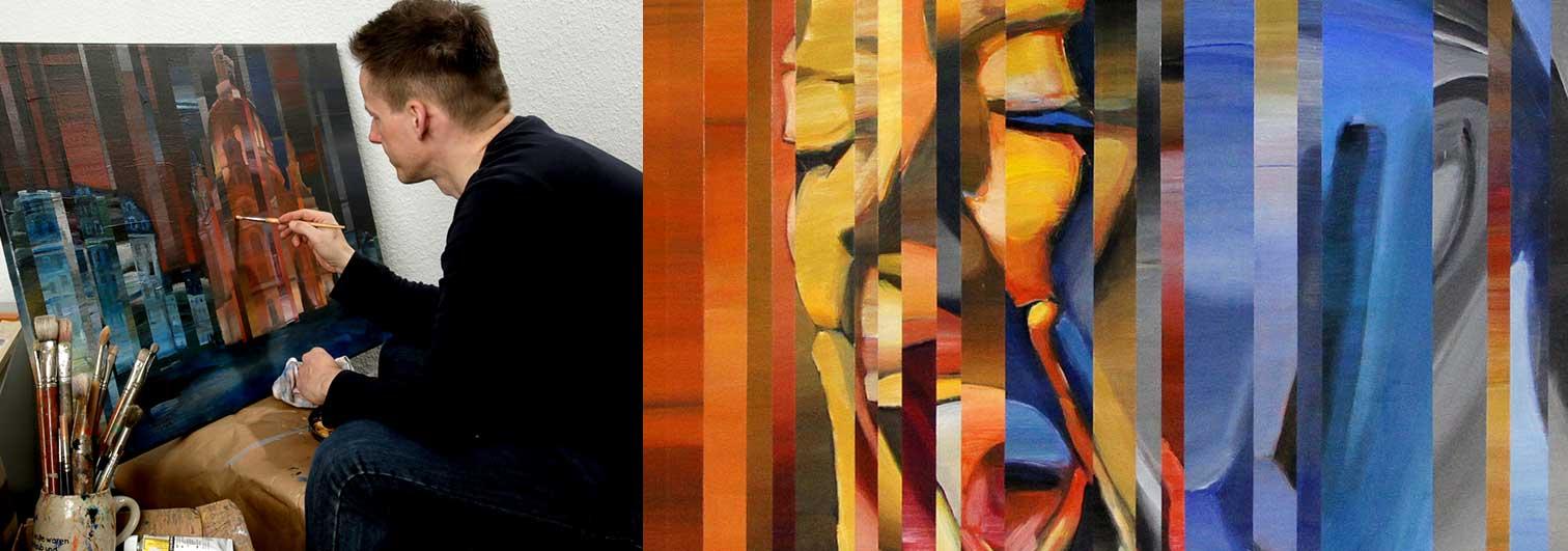 Moderne Kunstbilder von André Ismer